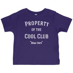 Property of cool club