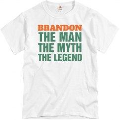 Brandon the man