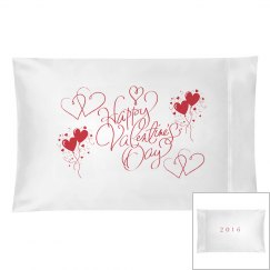 Valentine Pillowcase