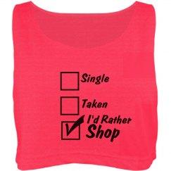 I'd Rather Shop Crop