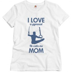 I love a gymnast he calls me mom