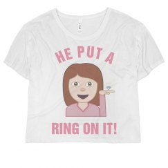 Just Engaged Emoji Tee