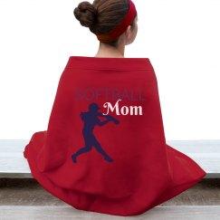 Softball Mom Blanket