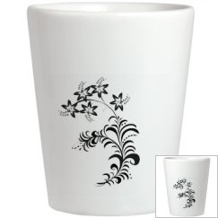 Floral I Shotglass