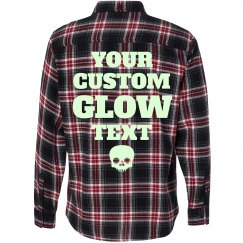 Custom Glow In The Dark Flannel