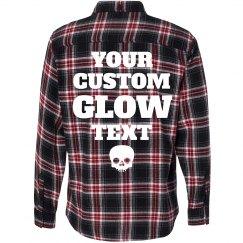 Custom Glow In The Dark Flannel