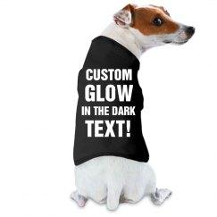 Custom Glow In Dark Dog Sweater