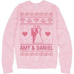 Custom Wedding Sweater