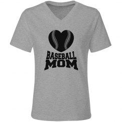 Baseball Mom Raglan Tee