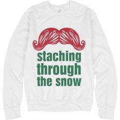 Christmas Stache