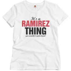It's a RAMIREZ thing