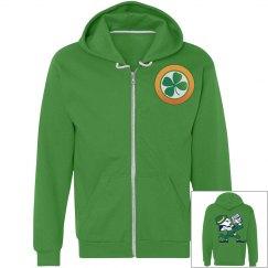Fun Saint Patrick,s Day Hoodie