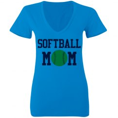 Neon Softball MOM