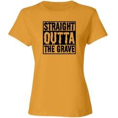 Straight Outta Grave Halloween Tank