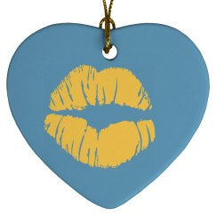 Cute Love Heart Ornament