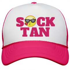 Color Guard Sock Tan Hat for Marching Band Camp