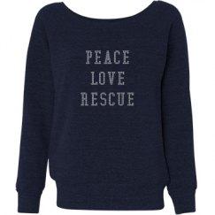 PEACE - LOVE - RESCUE