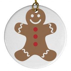 cute gingerbread man
