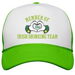 Irish Drinking Team Glove Hands