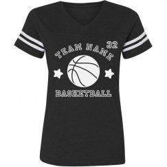 Custom Team Basketball Trendy Tee