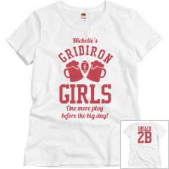 Budget Priced Custom Football Bachelorette Shirts