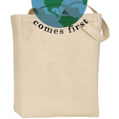 The Earth Comes First