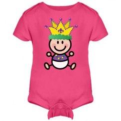 Mardi Gras Baby Cute King