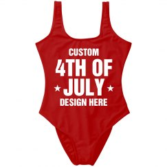 Custom 4th Of July Patriotic Party