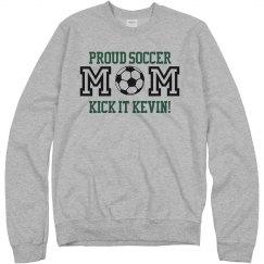 Proud Soccer Mom of Son