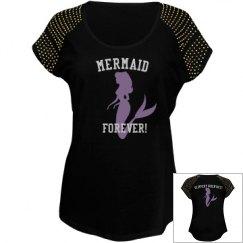 Mermaid Forever biker T  shirt
