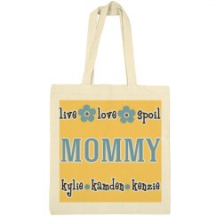 Mother's Personalized Tote Bag