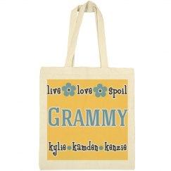 Grandma Personalized Tote bag