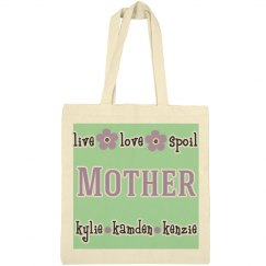Mother Personalized Tote Bag
