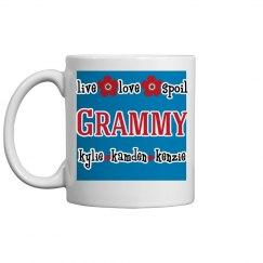 Personalized Grammy Coffee Mug