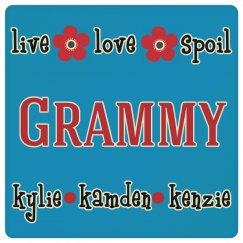 Grammy Drink Coaster