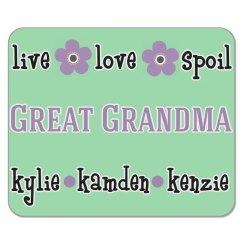 Great Grandma Mouse Pad Gift