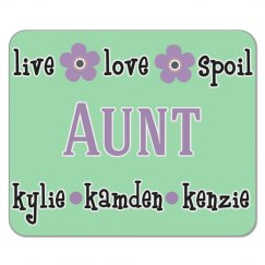 Personalized Aunt Mouse Pad