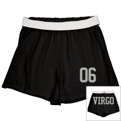 Virgo Sporty Zodiac Cheer Shorts
