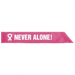 In This Together Breast Cancer Charity Walk or Run Sash