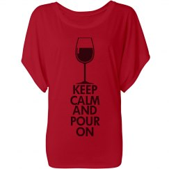 Keep Calm - Wine