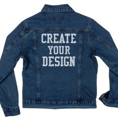 Create a Custom Denim Jean Jacket