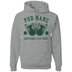 Irish Pub Custom Hoodies St Pats