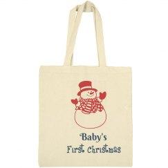 Baby's First Christmas Bag