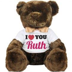 I love you Ruth!