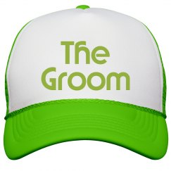 The Groom Trucker Hat