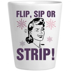Flip Sip Strip Shot