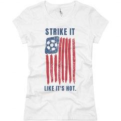 Strike It Hot Soccer