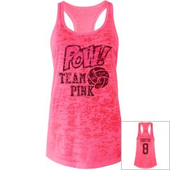 Team Pink Volleyball