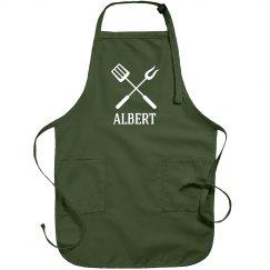 Albert Personalized apron