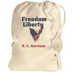 Freedom Liberty (Patriotic Eagle) Personalized Stencil